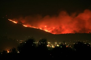 san miguel fire by Kevin on flickr