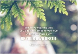 be your own bestie Unsplash on flickr