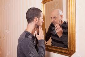 man in mirror Tommaso Lizzul